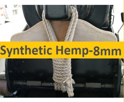 8mm Synthetic Hemp Rope