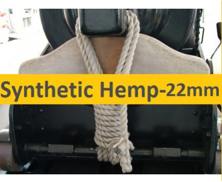 22mm Synthetic Hemp Rope