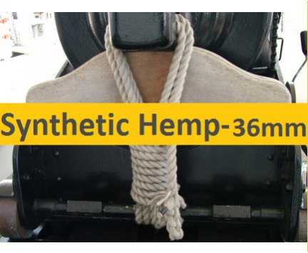 36mm Synthetic Hemp Rope