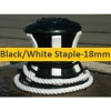 18mm Black or White Staple
