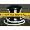 22mm Black or White Staple