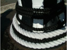 Staple Black or White Rope